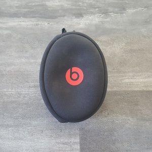 Black Red BBD Headphone Travel Case